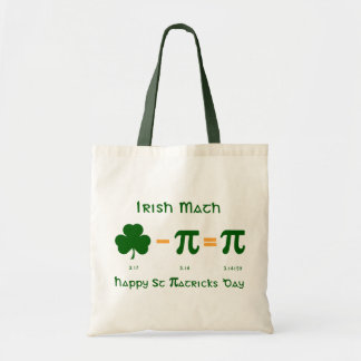 St Patricks Day & Pi Day Combination Tote Bag