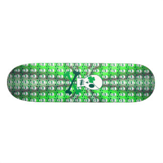 St. Patrick's Day Pirate 20 Cm Skateboard Deck