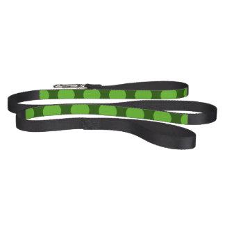 St. Patrick's Day Polka Dot Dog Leash