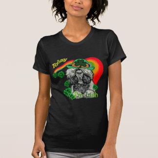 St Patrick's Day Poodle T-Shirt