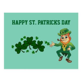 St. Patricks Day postcard