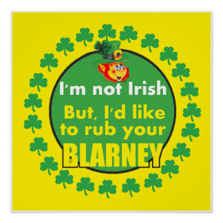 St. Patrick's Day POSTER Print