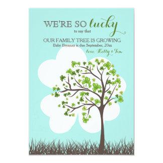St. Patrick's Day Pregnancy Announcement