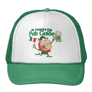 St. Patrick's Day Pub Guide Hat