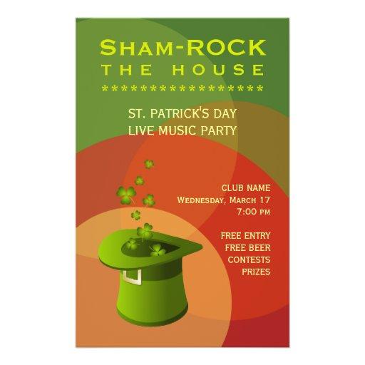 St. Patrick's Day Pub Party Event flyer