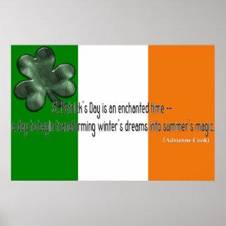 St. Patrick's Day Quote Print