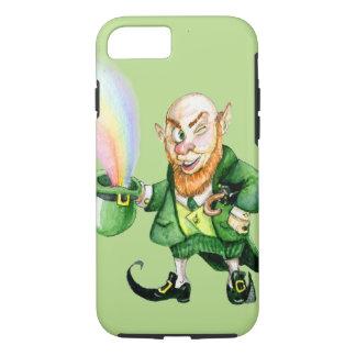 St. Patrick's Day rainbow leprechaun iPhone 7 Case