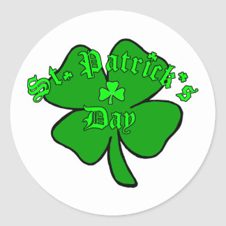 St. Patrick's Day Round Stickers