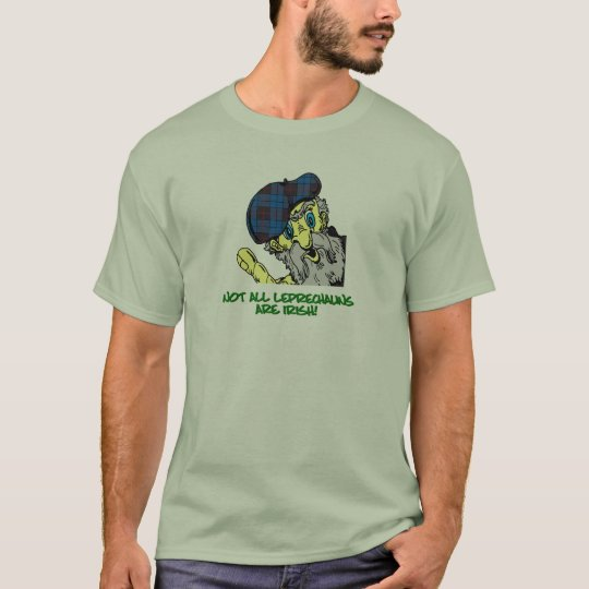 St. Patrick's Day Scottish Leprechaun Shirt