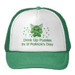 St Patrick's Day Scrapper Cat Cap
