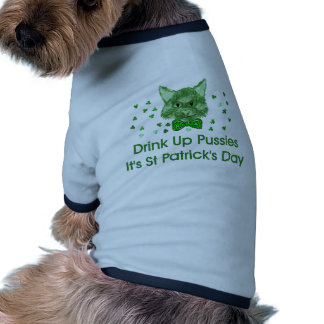 St Patrick's Day Scrapper Cat Doggie Tee