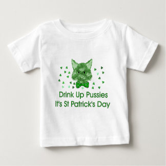 St Patrick's Day Scrapper Cat Tee Shirts