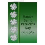 St. Patrick's Day - Secret Pal -Card Greeting Card