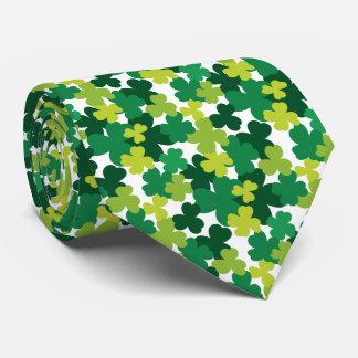 St. Patrick's Day Shamrock Pattern Tie