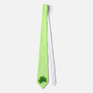 St. Patricks Day Shamrock Tie