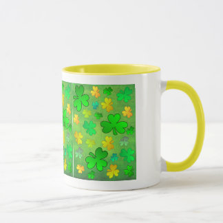 St. Patrick's Day Shamrocks Mug