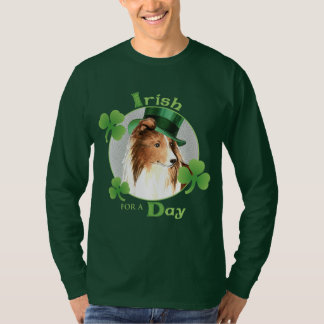 St. Patrick's Day Sheltie T-Shirt