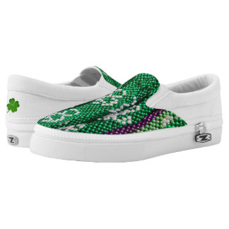 St.Patrick's Day Slip On Shoes Printed Shoes