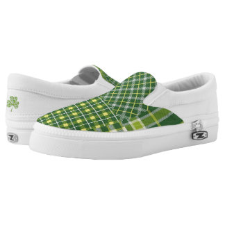 St. Patrick's Day slip on Shoes Printed Shoes