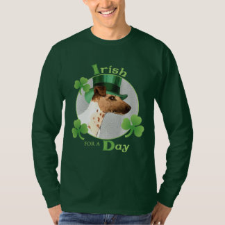 St. Patrick's Day Smooth Fox Terrier T-Shirt