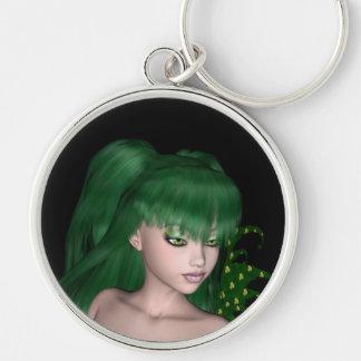 St. Patrick's Day Sprite 1 - Green Fairy Keychains
