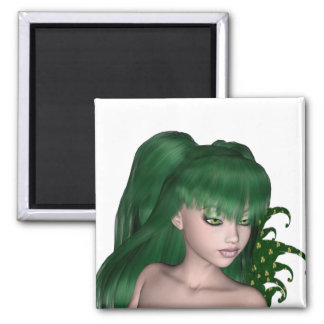 St. Patrick's Day Sprite 1 - Green Fairy Magnet
