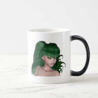 St. Patrick's Day Sprite 1 - Green Fairy Coffee Mugs