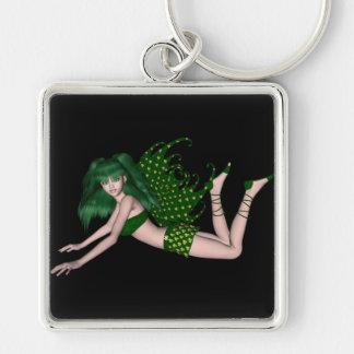 St. Patrick's Day Sprite 2 - Green Fairy Keychain