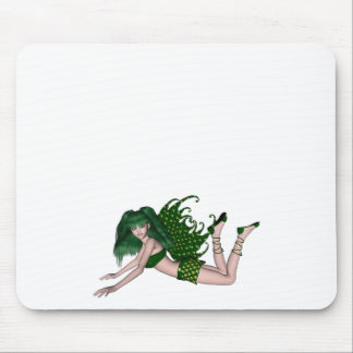 St. Patrick's Day Sprite 2 - Green Fairy Mouse Pad