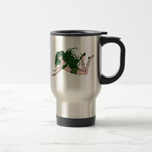 St. Patrick's Day Sprite 2 - Green Fairy Mug