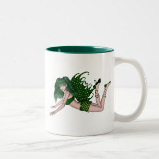 St. Patrick's Day Sprite 2 - Green Fairy Coffee Mug