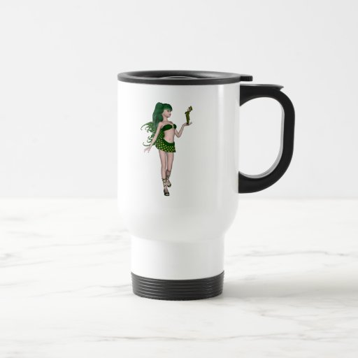St. Patrick's Day Sprite 3 - Green Fairy Mug