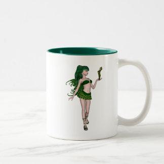 St. Patrick's Day Sprite 3 - Green Fairy Mugs