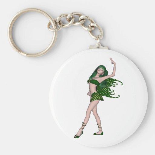 St. Patrick's Day Sprite 4 - Green Fairy Keychain