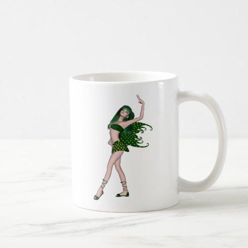 St. Patrick's Day Sprite 4 - Green Fairy Mugs