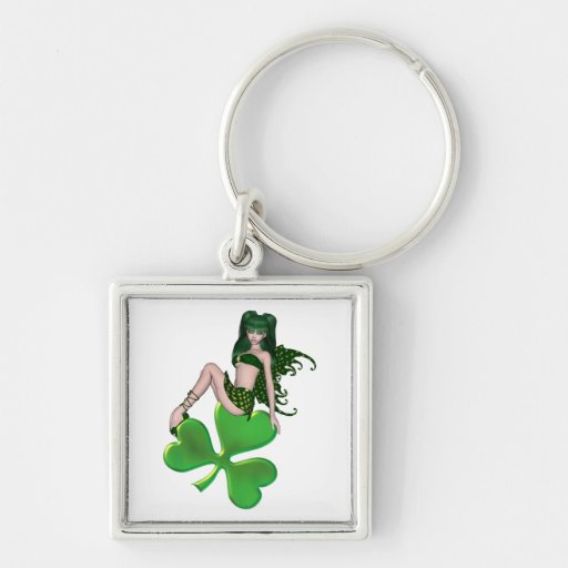 St. Patrick's Day Sprite 7 - Green Fairy Keychains