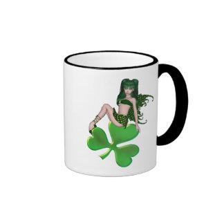 St. Patrick's Day Sprite 7 - Green Fairy Mugs
