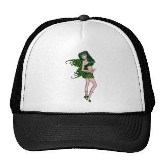St. Patrick's Day Sprite 8 - Green Fairy Mesh Hats