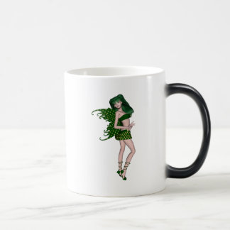 St. Patrick's Day Sprite 8 - Green Fairy Coffee Mug