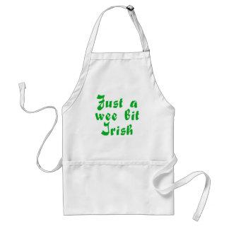 st. patrick's day standard apron