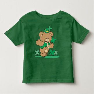 St. Patrick's Day Teddy Bear Toddler T-Shirt
