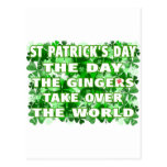 St Patricks Day-The Day The Gingers Take Over The Post Card