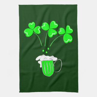 St. Patrick's Day The secret of brewing Custom Hand Towels