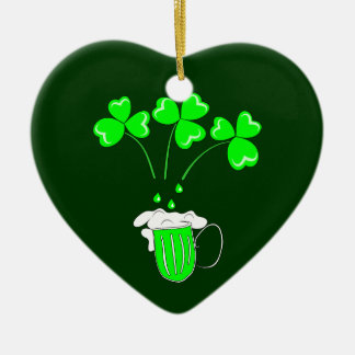 St. Patrick's Day The secret of brewing Ornament