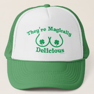 St. Patrick's Day | They're Magically Delicious Trucker Hat