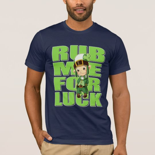 St Patricks Day Thomas the Lucky Elf T-Shirt
