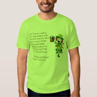 St. Patricks Day Toast Tshirts
