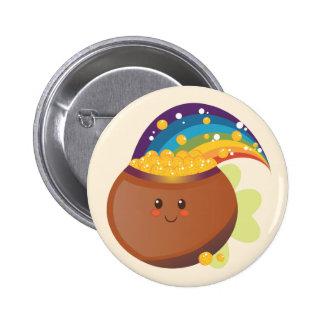 St. Patrick's Day Treasure 6 Cm Round Badge