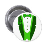 St. Patrick's Day Tuxedo Buttons