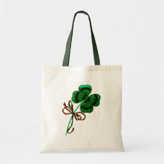 St. Patrick's Day Vintage Lucky 4 Leaf Clover Bags